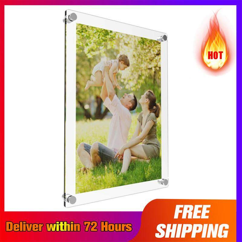 【Free Shipping + Super Deal + Limited Offer】Acrylic Photo Frame Poster Wall Picture Holder Perspex Clear Display A4