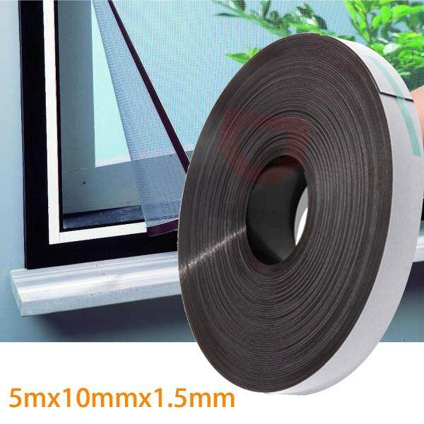 5M Self Adhesive Flexible Soft Rubber Magnetic Tape Magnet DIY Craft Strip Rolls