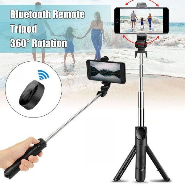 PUREMOM XT09 Cầm tay Kính thiên văn Bluetooth Đối với điện thoại Xa Có thể điều chỉnh Giá ba chân Monopod Gậy tự sướng Đế giữ điện thoại
