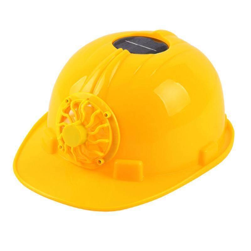Solar Safety Helmet Construction Site Construction Summer Fan Cap Smashing Summer Sun-resistant Cooling Breathable Multi-functional Helmet