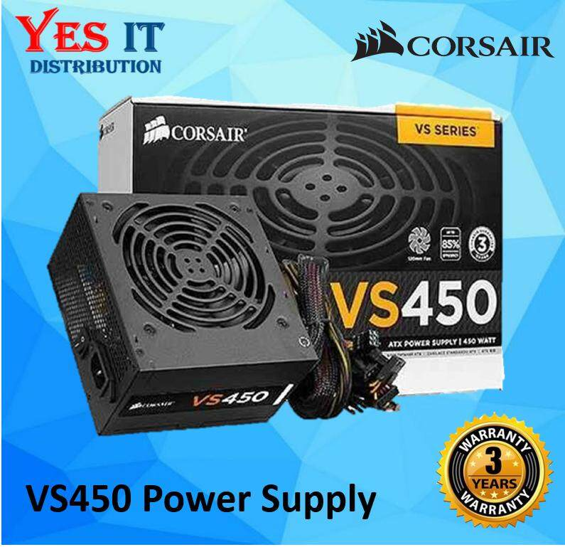 Corsair Vs450 Vs Series 450 Watt Power Supply By Yes It Distribution.