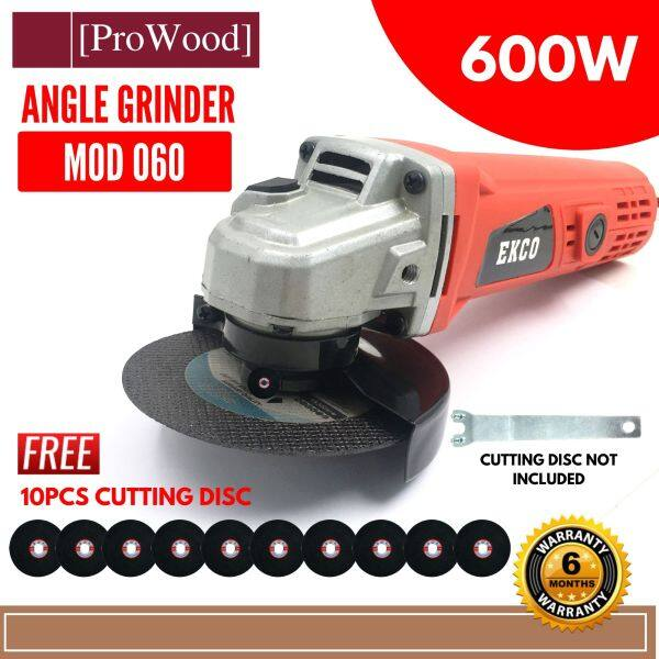 EKCO MOD060 Angle Grinder 600W 060 FOC 10Pcs Cutting disc