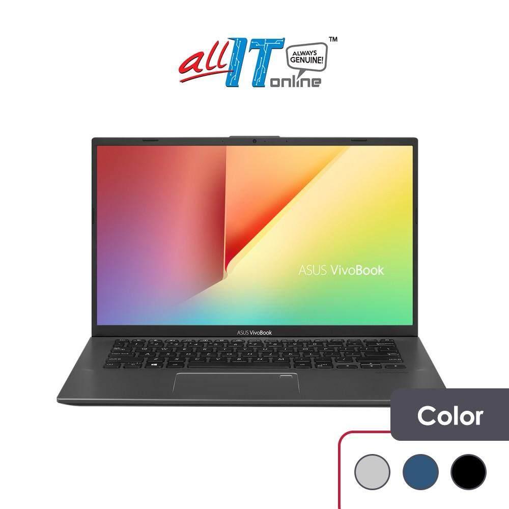 Asus Vivobook A412F-LEB093T / LEB094T / LEB095T Notebook [i5-8265U,4GB,512GB,MX250 2GB,W10H] Malaysia