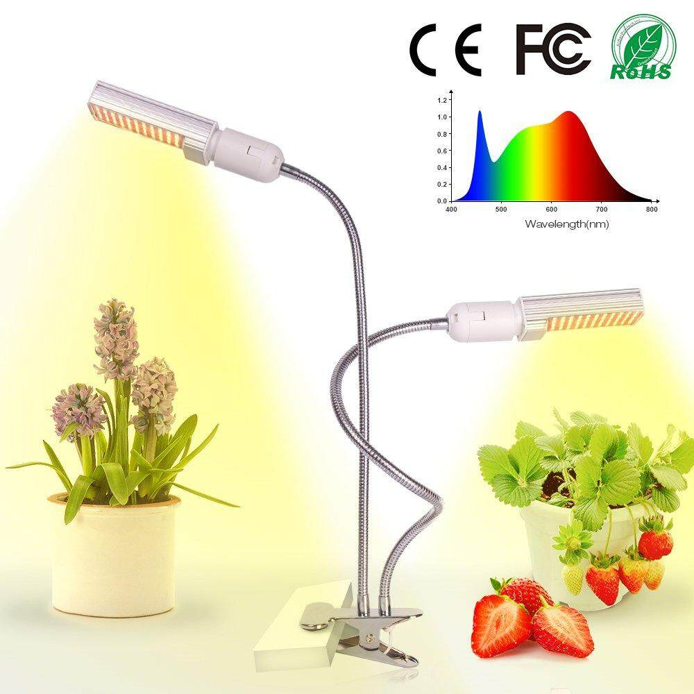 SS 45W Full Spectrum Plant Grow Light with Dual Head Clip