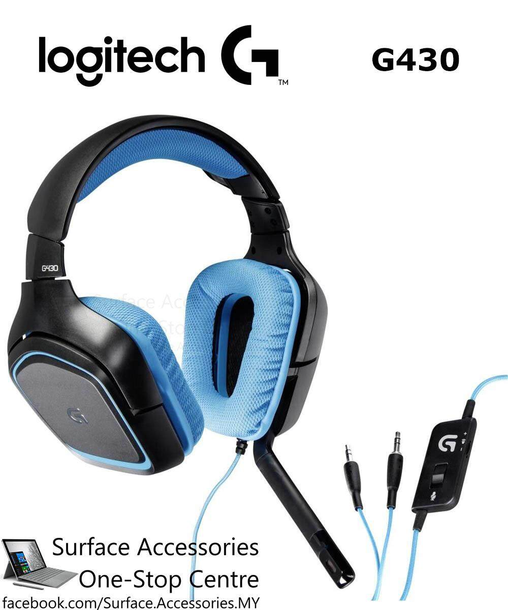 Logitech G430 Surround Sound 7.1 Gaming Headset with Mic 981-000536