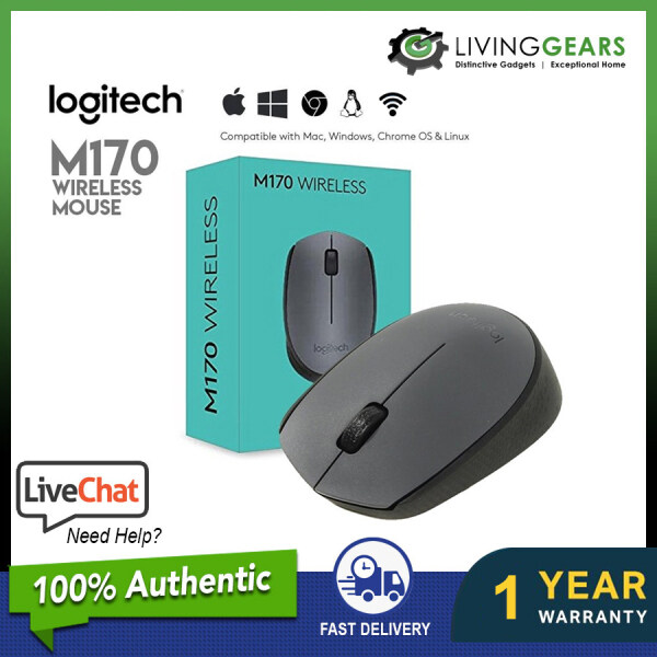 [ LOGITECH MALAYSIA WARRANTY ] M170 replacement B175 WIRELESS MOUSE For PC Desktop Or Notebook Laptop Wireless USB Optical Mouse (910-002635) Malaysia