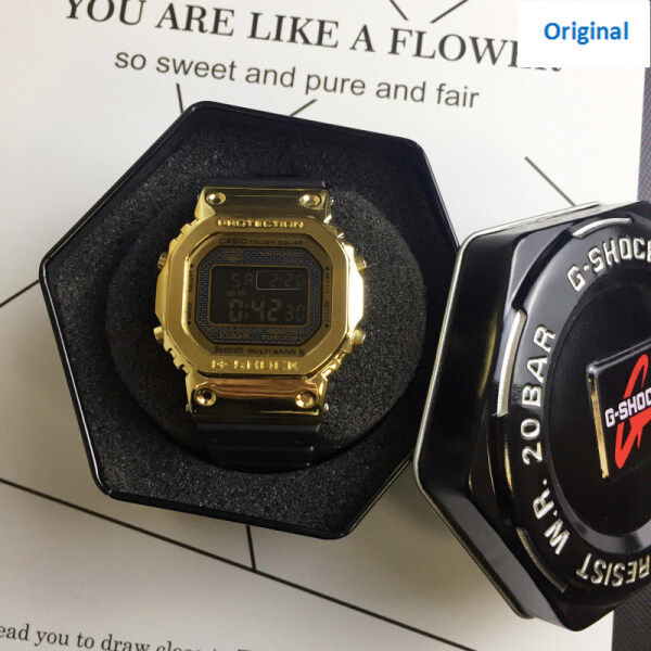 (Ready Stock) Original G Shock GA-700 Mens Watches 200M Water Resistant Shockproof and Waterproof World Time LED Auto Light Wist Sports Watches with 2 Year Warranty Resin Strap Sports Casual Watch Black Malaysia