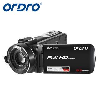 Máy Quay Video Ordro Z82, Camera Zoom Quang Học 10X Full HD Filmadora Cho Vlog YouTube thumbnail