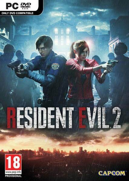 Resident Evil 2 - Offline Pc Game With Dvd By Nadhi Imani Enterprise.