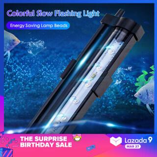 HENGKUN LED 7 Màu Sắc Thay Đổi Đèn Bể Cá Bình Cá Đèn Chìm Dưới Nước Đèn Bong Bóng Khí thumbnail