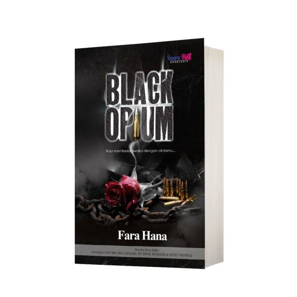 Novel Black Opium, Fara Hana Malaysia