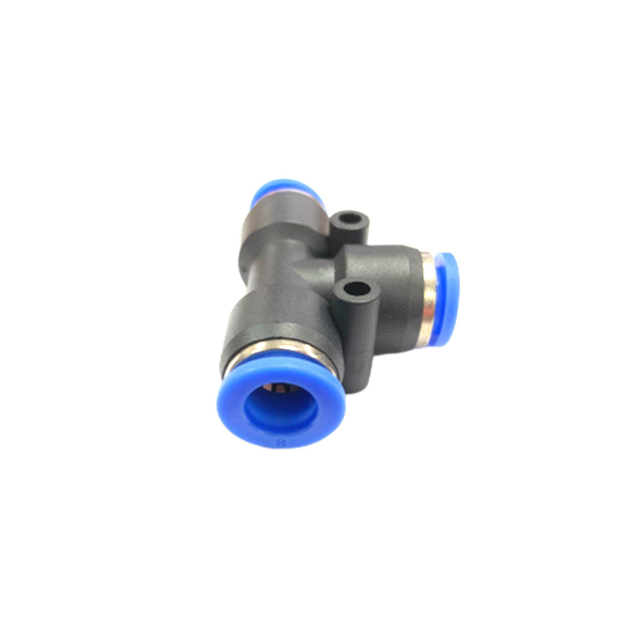 Pe08 8mm Union Tee Pneumatic Air Push In Quick Fittings By Hong Sheng Store.
