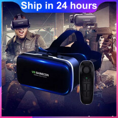 Amorus SHINECON 6 Generation G04 3D IMAX Screen VR Glasses Virtual Reality Headset for 4.0 – 6.0 inch Phones