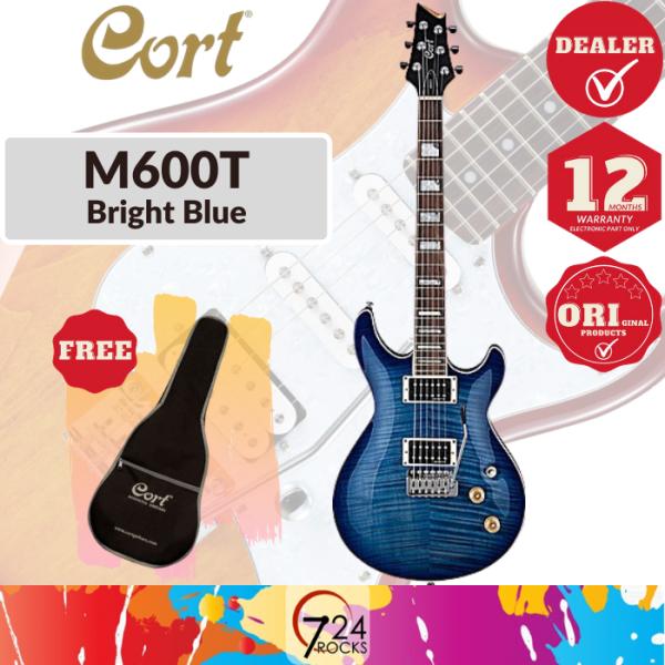 724 ROCKS Cort M600T M-Series Electric Guitar ( M600 T  M600-T) Malaysia