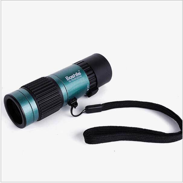 Berkualitas Tinggi dan Kuat Teropong 15-75x25 HD Fleksibel Fokus Tinggi Power Mini Zoom Monokuler Teleskop untuk Panduan Perjalanan