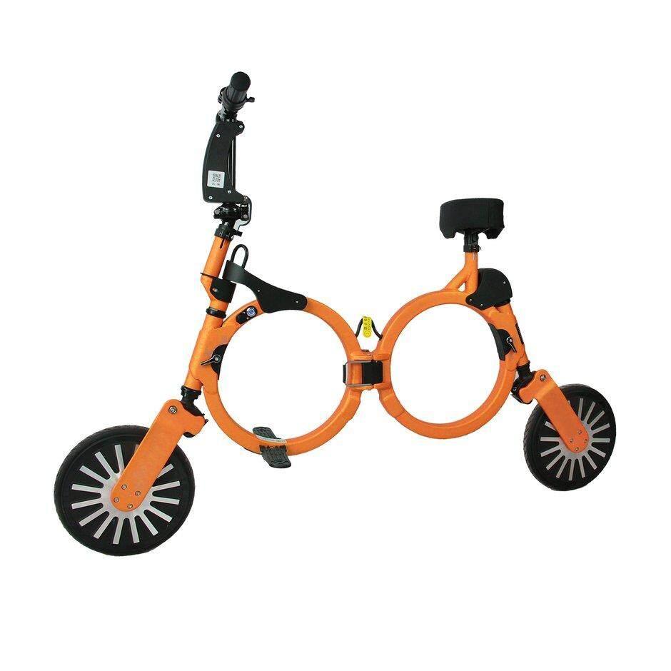 Penjualan Terbaik Ultraringan Dapat Dilipat Ransel E-Sepeda Sepeda Listrik Lipat Scooter 2 Wheel