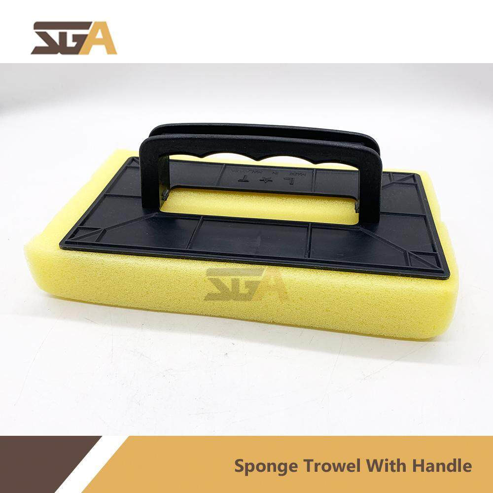 SPONGE TROWEL WITH HANDLE