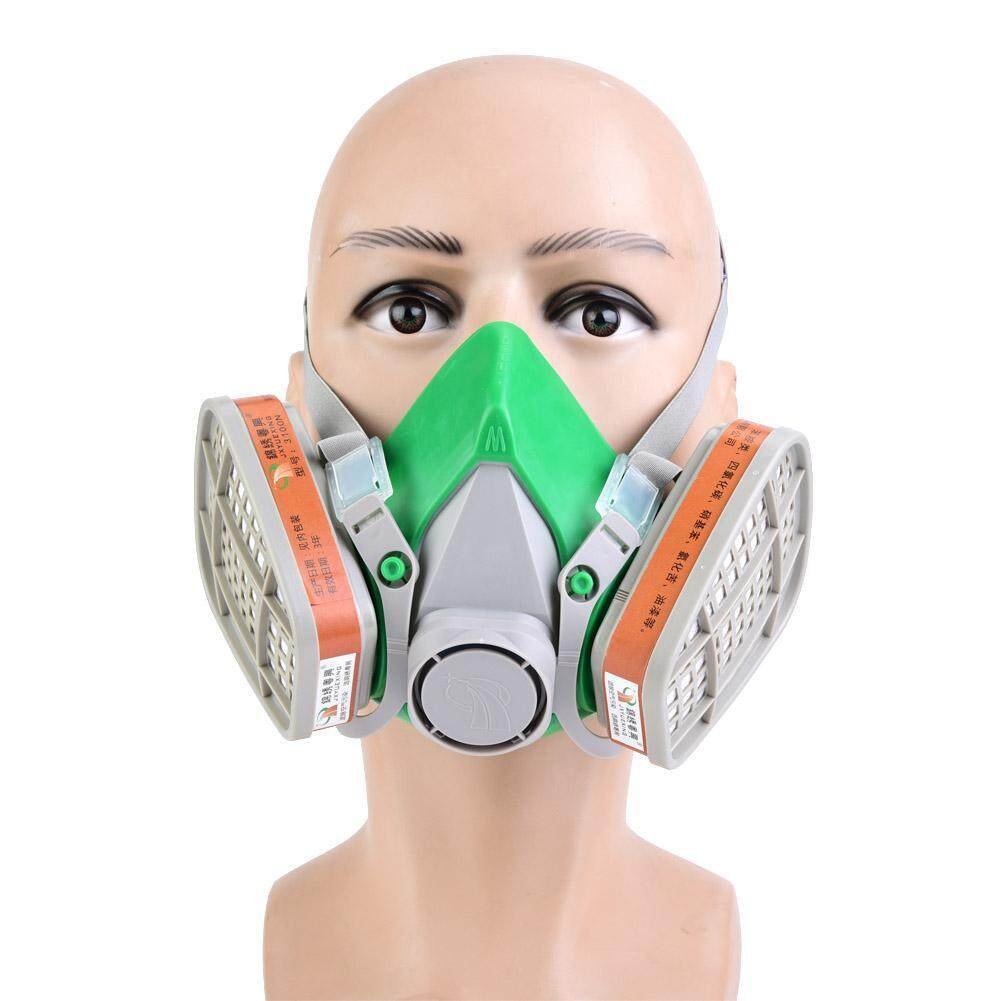 New Multifunction Respirator Chemical Gas Mask Safety Dust Proof Filter
