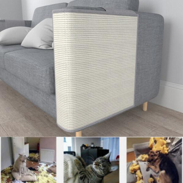 Thảm Cào Trái Cho Mèo Tấm Chắn Sofa Sisal Tấm Bảo Vệ Chống Trầy Xước Cho Thú Cưng Và Tấm Chắn Ghế Sofa Tấm Chắn Cào Mèo Cho Mèo Mài Móng Bảo Vệ Đồ Nội Thất