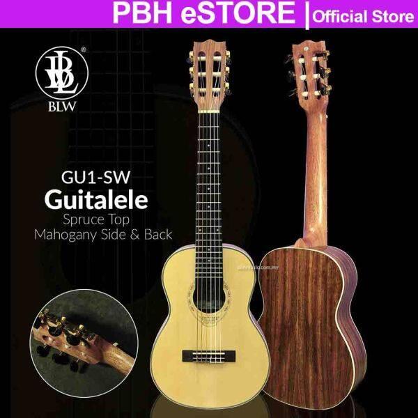 BLW Guitalele GU1-SW Spruce Top Mahogany Side & Back Guitalele Guitar Ukulele Nylon String Malaysia
