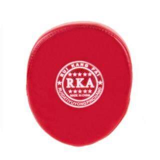 Boxing Training Glove Mitt Target Focus Punching Pad Karate Muay Thai Kick Red thumbnail