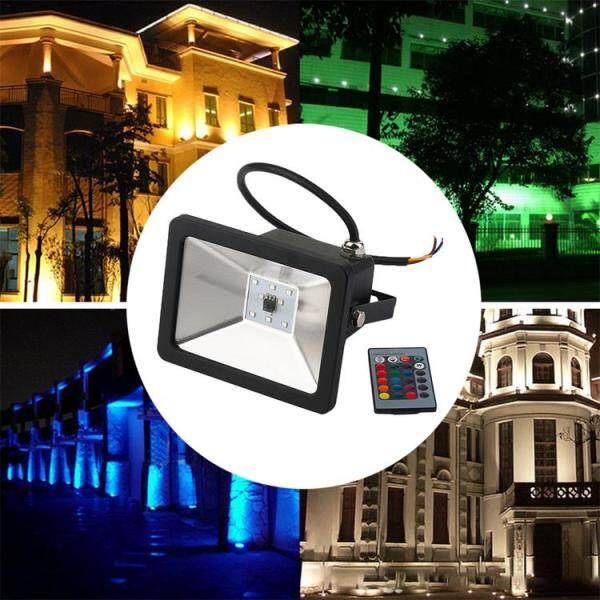 Đèn Máy Chiếu Từ Xa Viugreum RGB Đèn Pha Tiết Kiệm Thời Gian Chống Nước 10W 20W 30W