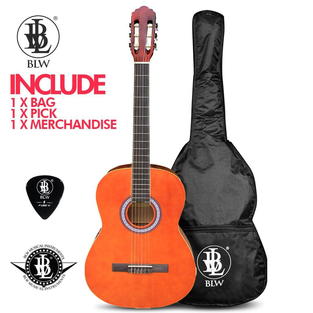 ... Pedal Bass Source · BLW 39 inch Classical Standard Nylon Strings Guitar for starters and beginners Comes with BLW Bag