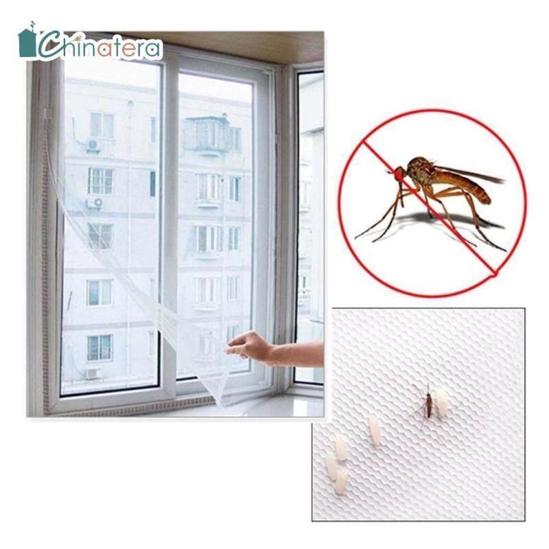 [Chinatera] 150X130Cm DIY Màn Chống Muỗi Cửa Sổ Màn Hình Lưới Chống Côn Trùng Có Băng Dính