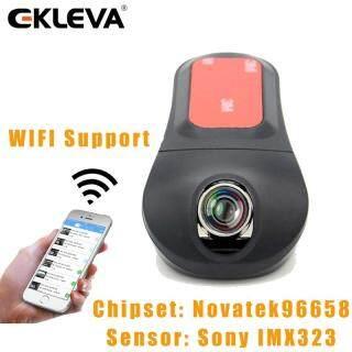 EKLEVA Máy Quay Video Kỹ Thuật Số Mini Giấu Kín FHD 1080P Novatek Camera Hành Trình IMX 96655 322 Camera DVR Xe Ô Tô WiFi Cảm Biến G Nhìn Ban Đêm Máy Quay Tự Động Máy Dò Chuyển Động Xe Hơi, Màn Hình Xe Hơi thumbnail