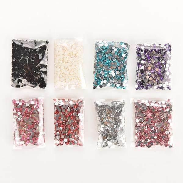 Set 1000 hạt đá phê lê lấp lánh nhiều màu sắc đính móng nghệ thuật Blossom  - INTL