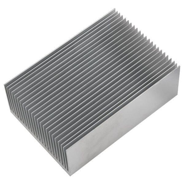 Large Aluminum Heatsink Heat Sink Radiator Cooling Fin for IC LED Power Amplifier