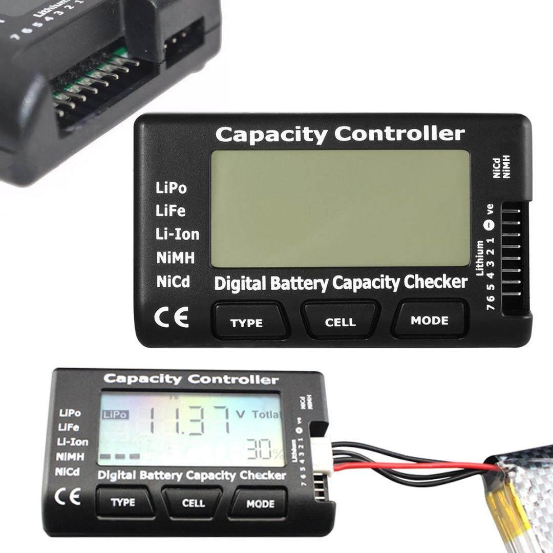 idealhere New Cellmeter-7 Battery Capacity Voltage Checker Tester LiPo LiFe Li-ion NiMH