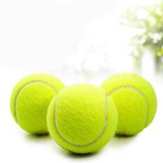 Đồ Chơi Thú Cưng Cao Su Chống Cắn 63 Mm Màu Vàng Huỳnh Quang Bóng Tennis Huấn Luyện Chó