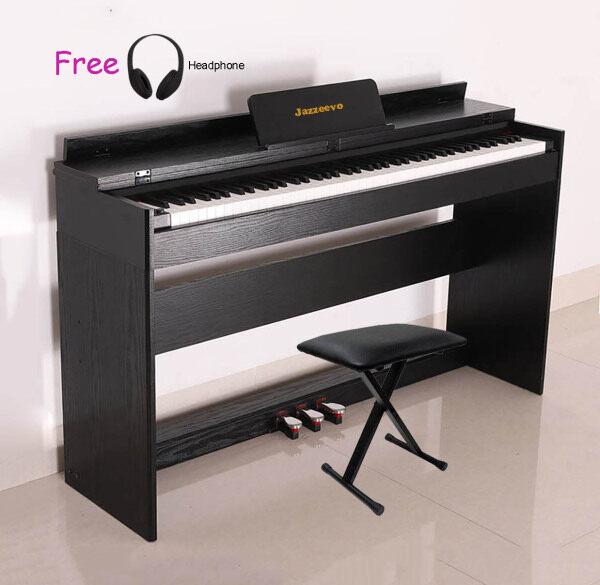 Exam Grade/ Master Grade 88 Keys Digital Piano Hammer Action Weighted Keys Fully Weighted Full Size Key Jazzeevo J-5 High Quality Flip Cover Malaysia