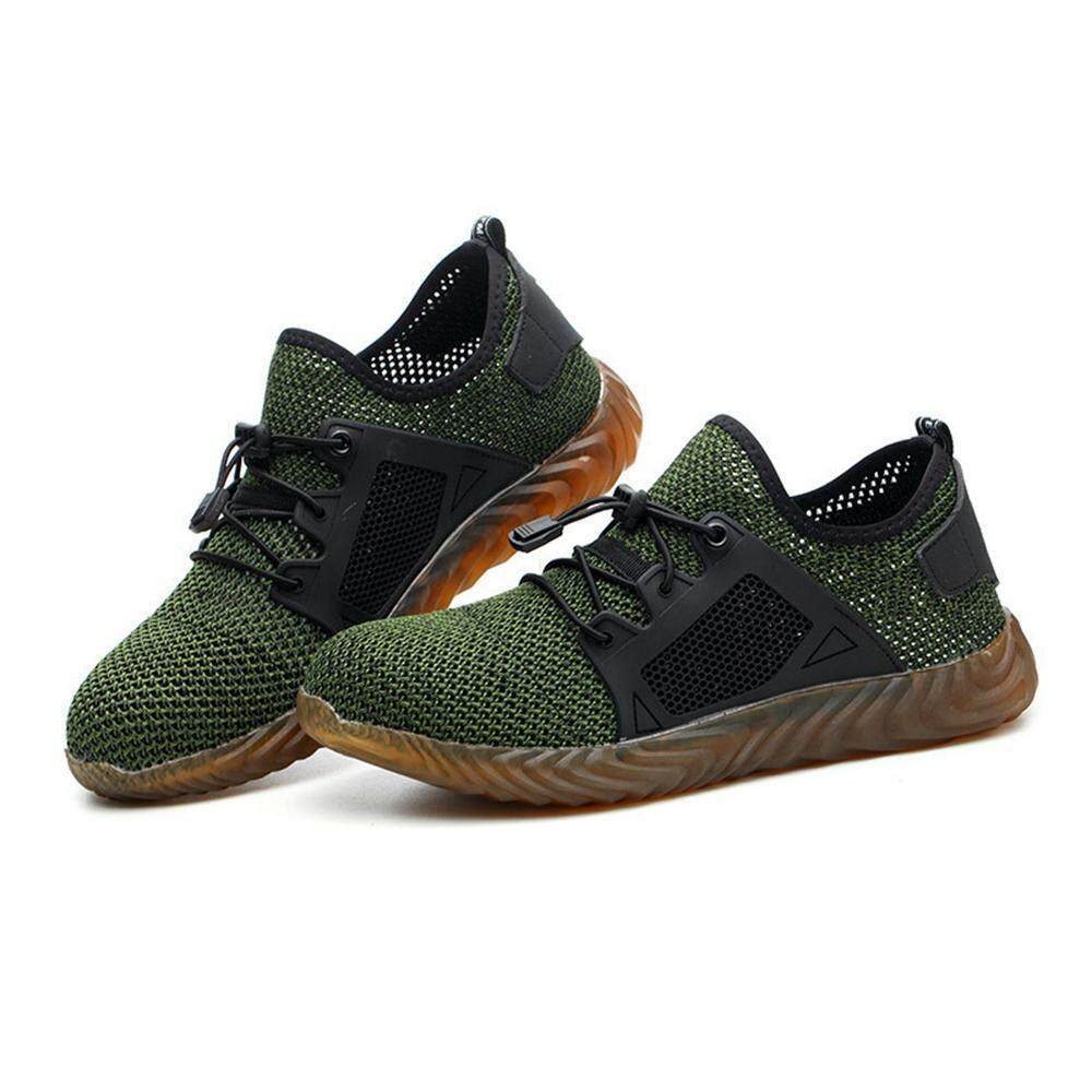 OEM Steel Toe Shoes Men, Safety Work Sneakers Outdoor Lightweight  Breathable Industrial Construction Non Slip Puncture Proof Composite Toe  Shoes
