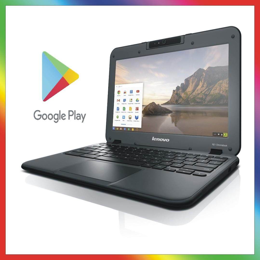 Lenovo N22 11.6 inch HD Chromebook Laptop (Intel Celeron N3060, 4 GB RAM, 16 GB EMMC, Chrome OS) - Black Android Malaysia