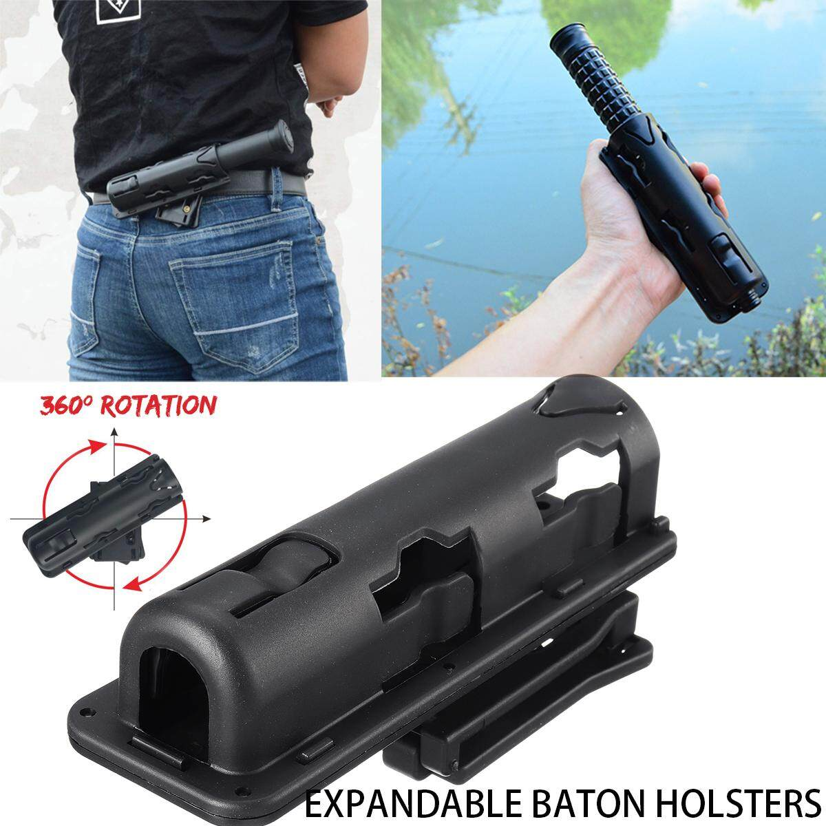 360° Expandable Stick Holsters Swivelling Case Cover Adjustable Clamping Buckle