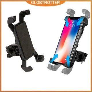 COD & Hàng sẵn sàng Chống rung 360 Xoay Giá đỡ điện thoại thông minh có thể điều chỉnh Giá đỡ xe đạp phổ thông Giá đỡ xe đạp Tay lái Xe đạp Giá đỡ điện thoại di động thumbnail