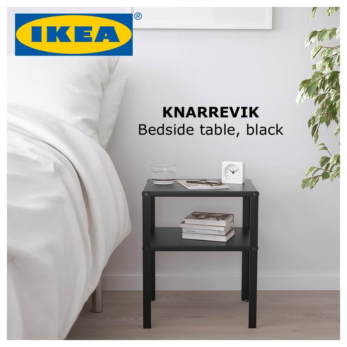 Ikea Knarrevik Small Room Metal Modern Design Furniture Bedside