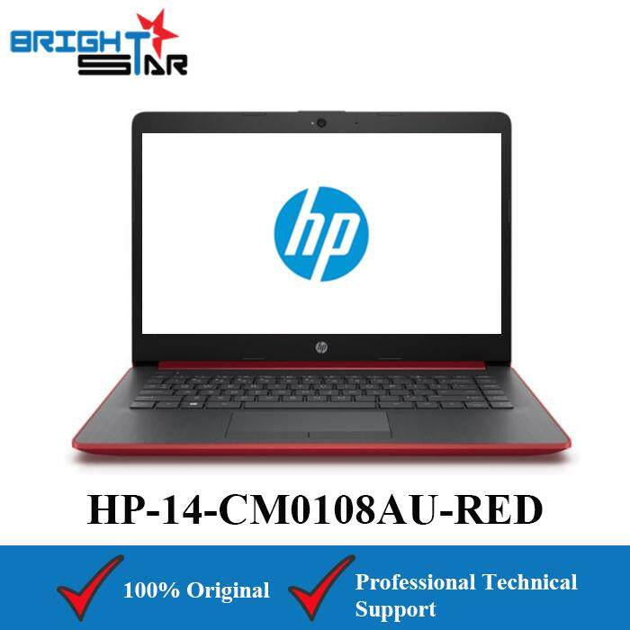 HP 14-CM0108AU Red (AMD Ryzen 5-2500U/4GB/1TB HDD/AMD VEGA 8/14Inch) Malaysia