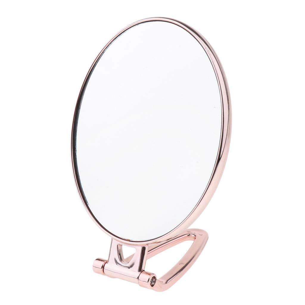 Cuticate Dua Sisi 2 Xmagnifying Equisite Makeup Cermin Meja dengan Folding Handheld