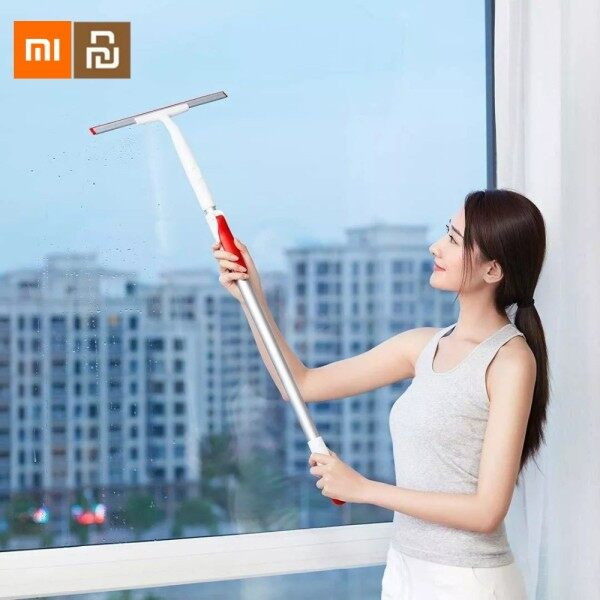 Xiaomi Yijie Retractable Window Squeegee Portable Car Glass Cleaner 300mm Scrapers Bathroom Cleaning Kit