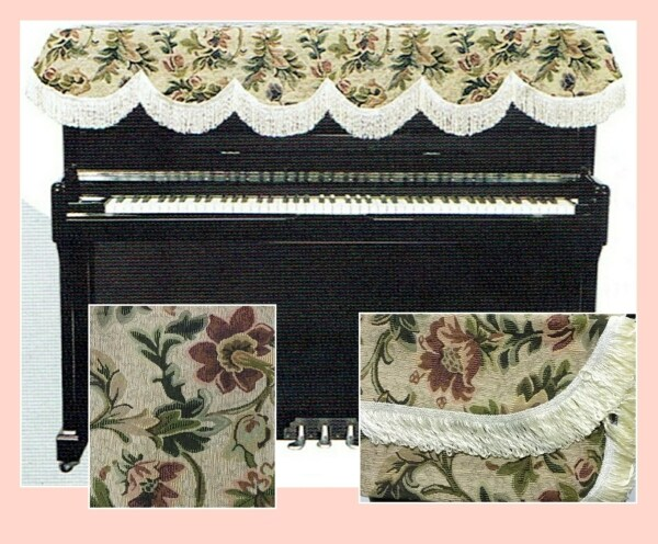 Piano Top Cover - Flowery Malaysia