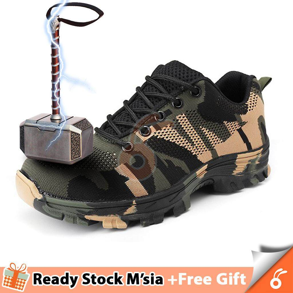 ba85c7233e2 [70-F1/G1] 1030 THOR Men Plus Size Outdoor Steel Toe Cap Military Safety  Boots Shoes - FREE GIFT WITH EVERY UNIT