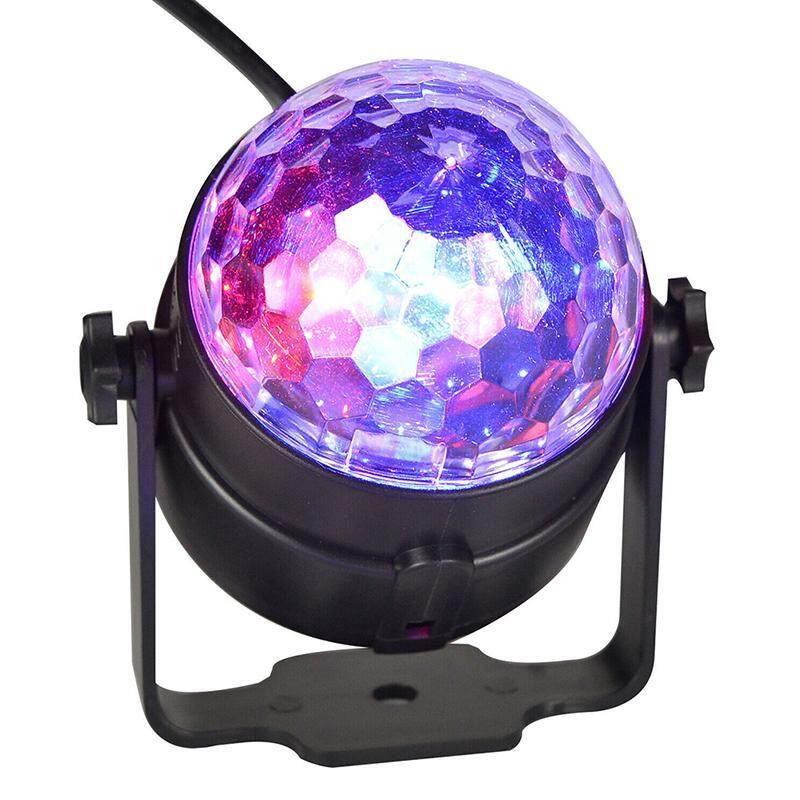 Nhiều Loại Đèn LED Disco Bóng Hiệu Ứng DJ Tự Động Đèn Led Đảng Thanh Quán Rượu Điều Khiển Từ Xa