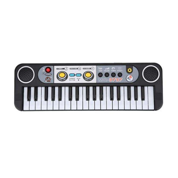 37-Key Electronic Organ Digital Key Board Piano Musical Instruments Kids Toy With Microphone Malaysia