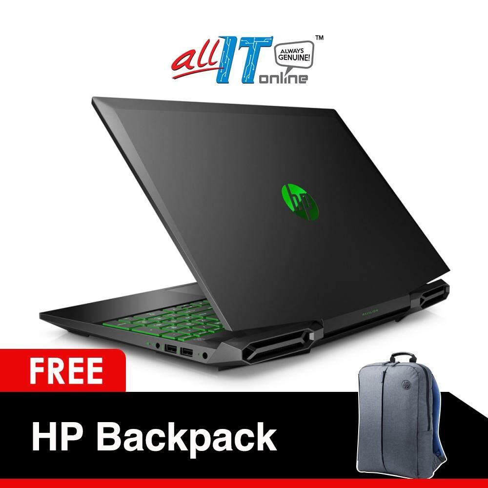 HP Gaming Pavilion 15-dk0011TX 15.6 Notebook [i7-9750H, 8GB, 1TB, GTX 1650 4GB, W10] Malaysia