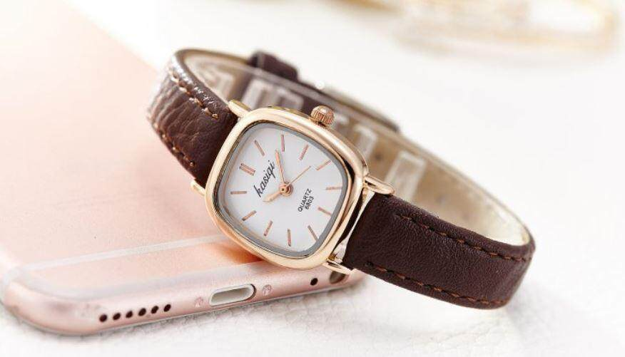 ❤️ Seller New Pick ❤️ Kasiqi Simple Version Female Quartz Watch Jam Tangan Wanita Baru  | 女生韩式简约风格手表 Malaysia