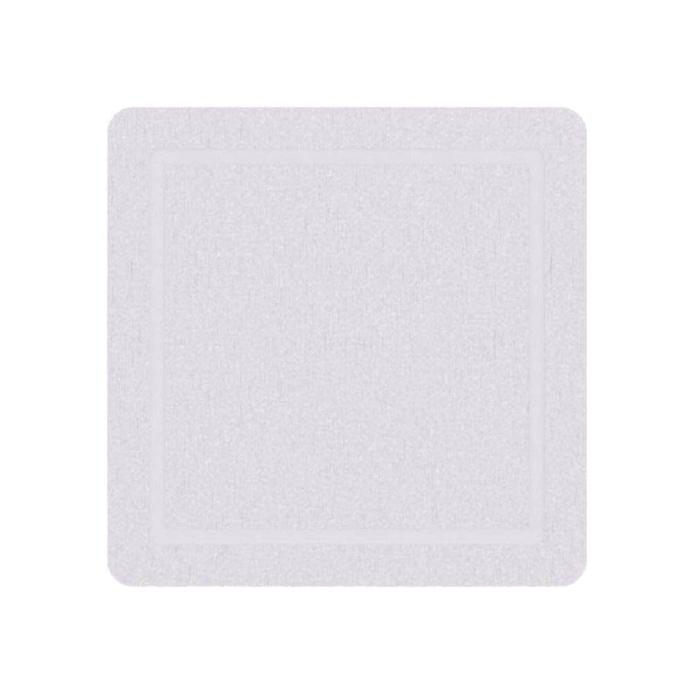 Yanqi White Drink Coasters Absorbent-White Square Coasters For Hot And Cold Drinks White By Sunnny2015.