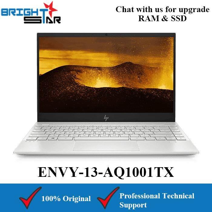 HP ENVY 13-AQ1001TX Silver (Intel I5-10210U/8GB/512GB SSD/MX250 2GB/13.3inch) Malaysia